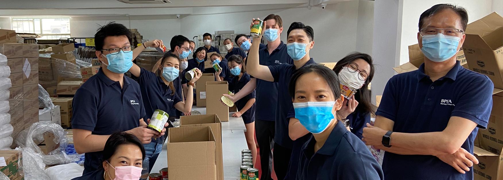Corporate Volunteering BPEA